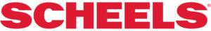 SCHEELS Logo, SCHEELS in red text