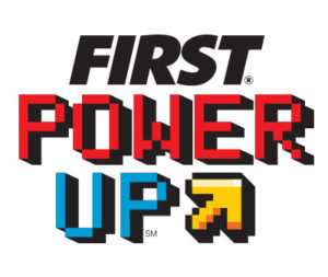 2018 FIRST Robotics Competition Game Logo - FIRST Power Up.