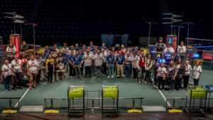 Event volunteers group photo for 2017.