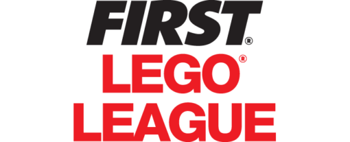 FIRST LEGO League Typography without FIRST Logo, text in FLL red.